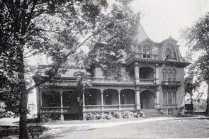 Sherman's home in Mansfield, Ohio