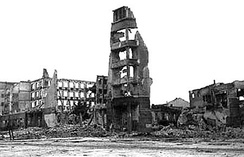 The aftermath of the Battle of Stalingrad