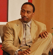 Stephen A. Smith - main panelist on First Take, and analyst on multiple other ESPN programs