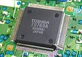 A Toshiba T9769A integrated circuit