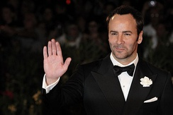 Fashion designer and filmmaker Tom Ford was raised in Santa Fe after moving from Texas.
