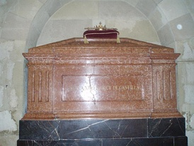 Tomb of King Ferdinand IV of Castile in the Royal Collegiate Church of Saint Hippolytus, Córdoba.