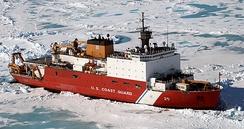 USCGC Healy uses a diesel–electric propulsion system designed by GEC-Alsthom