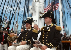 Officers and crew of USS Constitution (2005)