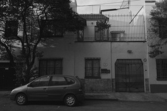 21 Tepeji Street, Colonia Roma - the original house of Cuarón's family, located opposite the filming location house