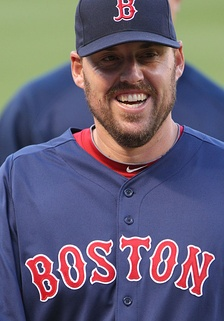 Lackey with the Boston Red Sox in 2011