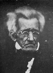 Daguerreotype of Andrew Jackson at age 78.