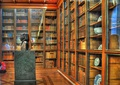 Bookcases in the King's Library, British Museum