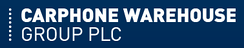 Former Carphone Warehouse Group plc logo in use until 2014 merger with Dixons Retail plc