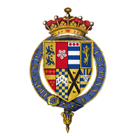 Quartered arms of Robert Dudley, Earl of Leicester