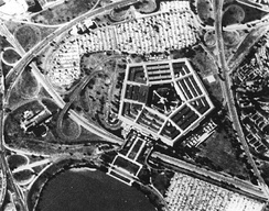 CORONA image of The Pentagon, 25 September 1967