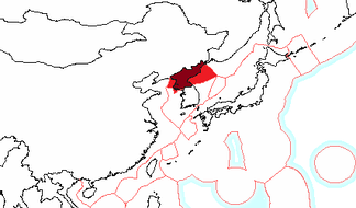 The exclusive economic zone of North Korea