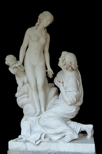 Pygmalion et Galatee by Étienne-Maurice Falconet (1763)