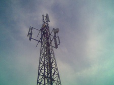 A typical Grameenphone tower