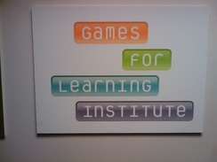 The Courant Institute along with Microsoft Research are the founders of the Games for Learning Institute