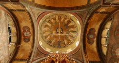 Dome with mosaic of Hagia Sophia, Thessaloniki (8th century), a UNESCO World Heritage Site.