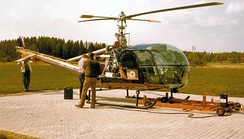 Hiller UH-12E4, four seater