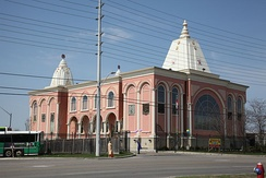 The Hindu Heritage Centre is located in Mississauga.
