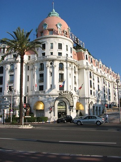 Hotel Negresco in Nice where the Jackal learns his mission has been revealed.