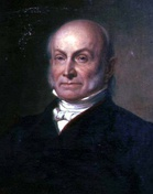 Four candidates received votes in the Electoral College in 1824, with no candidate attaining a majority.  The House of Representative elected John Quincy Adams (left) even though Andrew Jackson (right) had won a plurality of both the electoral and popular votes in the original election.
