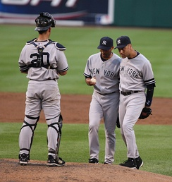 The Yankees' success in the late 1990s and early 2000s was built from a core of productive players that included Jorge Posada, Mariano Rivera, and Derek Jeter.