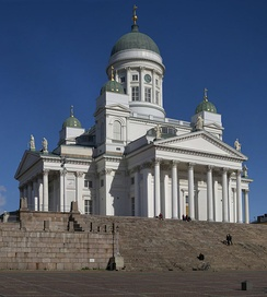 The Helsinki Cathedral is among the most prominent buildings in the city.