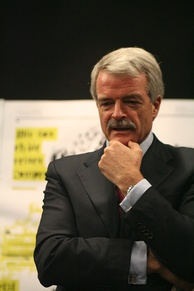 Sir Malcolm Grant, the incumbent Chancellor