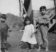 Young members of the Chukchansi tribe, California, ca. 1920
