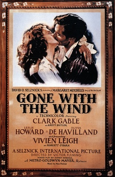 Poster for Gone With the Wind (1939).