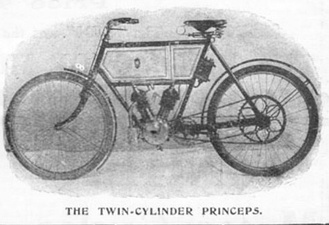 1902 Princeps V-Twin (air-cooled)