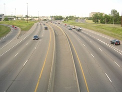 400-series freeways are the major road transportation system in Southern Ontario.