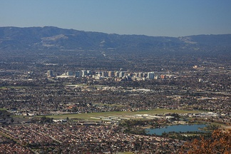 San Jose is the major city of the South Bay