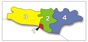 City Districts numbered