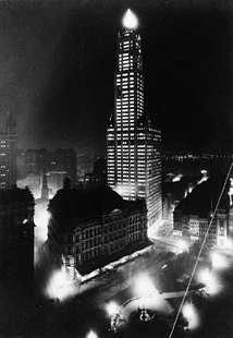 Woolworth Building 1913, site of City Hall campus