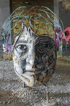 Public Art on the BeltLine — 2015Object of Wo(man) by William Massey