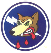 Legacy 412th Fighter Squadron Emblem