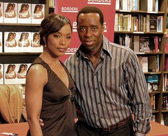 Bassett with her husband, Courtney B. Vance, March 1, 2007