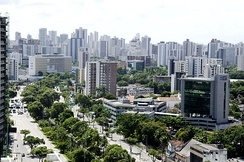 Recife, the biggest city of the state