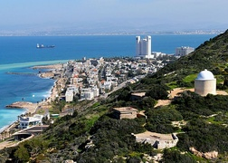 A view of Haifa, Israel