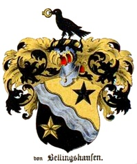 Coat of arms of Bellingshausen family