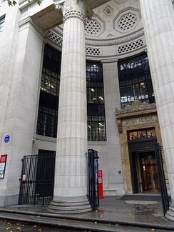 King's Business School is based in Bush House, Aldwych in Central London