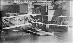 The Burgess-Dunne was Canada's first military aircraft, although it never saw military service.