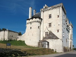 The end of the Hundred Years' War marked the beginning of the French Renaissance in France, Château de Montsoreau (1453).
