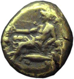 Coin of Mysia, 4th century BC