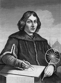 Nicolaus Copernicus, the clergyman astronomer who put the Sun at the center of the Solar System, upsetting both scientific and religious accepted theory.