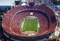 The Cotton Bowl hosts the annual Red River Showdown.