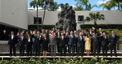 The Ibero-American Summit, in San Salvador, 2008