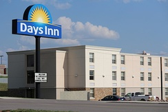 A Days Inn in Gillette, Wyoming