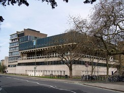 The Denys Wilkinson Building from the Banbury Road