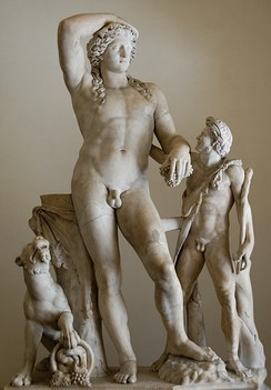 Classical literature that was studied included mythical figures such as Dionysus.
